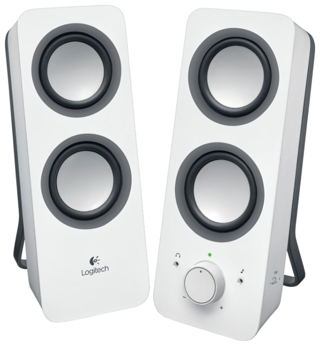 Компьютерная акустика Logitech Z200 White 980-000811
