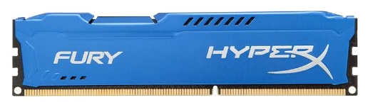 Модуль памяти Kingston HX316C10F/4 (DDR3, 1x 4Gb, 1600 MHz, CL10-10-10, DIMM)