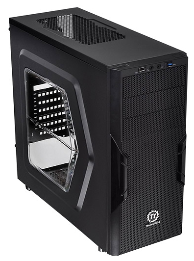 Корпус Thermaltake Versa H22 Window CA-1B3-00M1WN-00 Black CA-1B3-00-M1WN-00