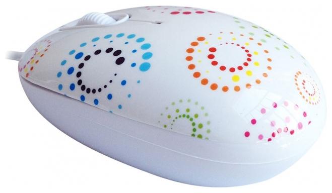 ����� CBR mouse + mousepad Rainbow USB
