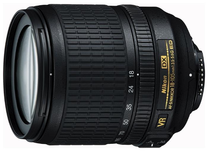 Объектив для фото Nikon 18-105mm f/3.5-5.6G AF-S ED DX VR Nikkor JAA805DB