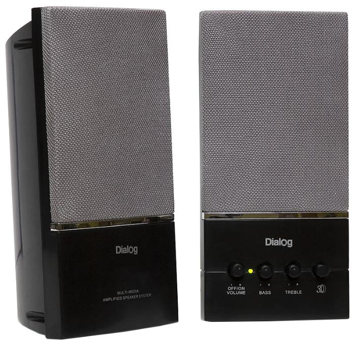 Компьютерная акустика Dialog AM-13B Черная