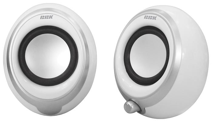 Компьютерная акустика BBK CA-201S, белая CA-201S белый