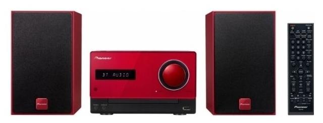 Музыкальный центр Pioneer X-CM35-R, красный X-CM35-R Red