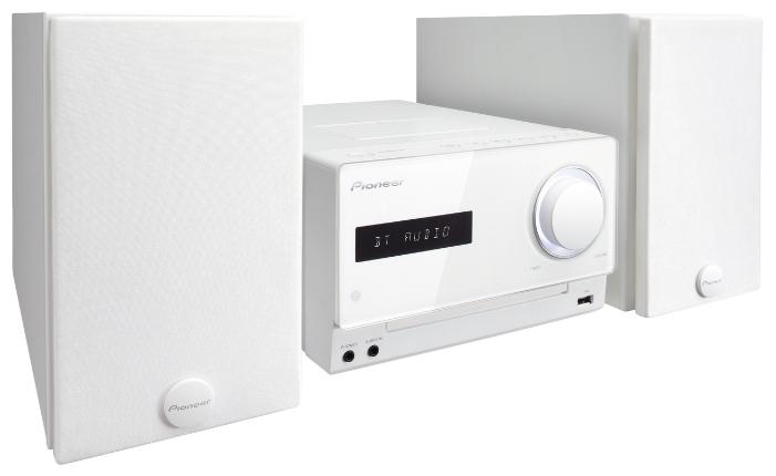 Музыкальный центр Pioneer X-CM42BT-W, белый