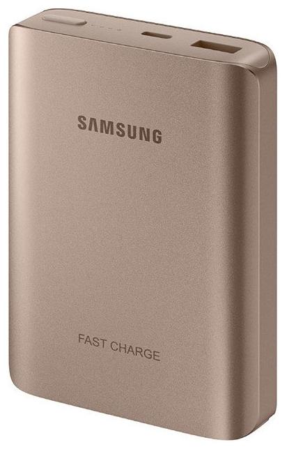 Аксессуар для телефона Samsung Мобильный аккумулятор EB-PN930CZRGRU Li-Ion 10200mAh, розовое золото