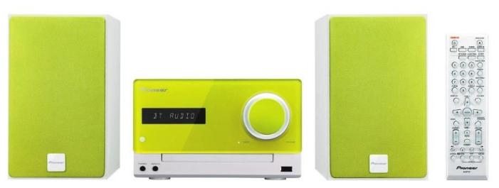 Музыкальный центр Pioneer X-CM35-N, зеленый X-CM35-N зеленый