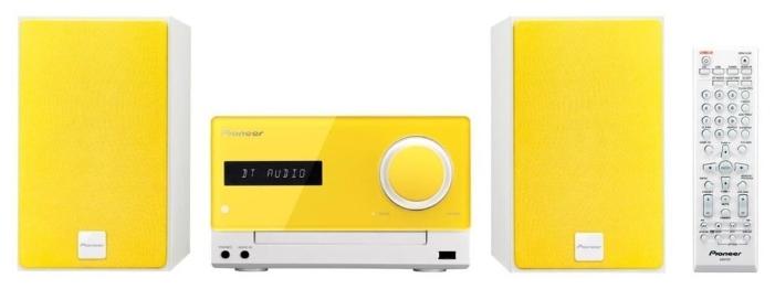 Музыкальный центр Pioneer X-CM35-Y, желтый X-CM35-Y желтый