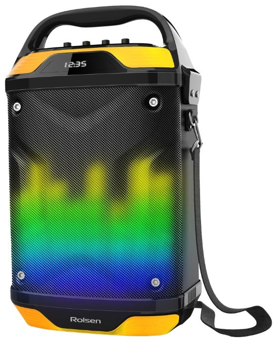 Портативная акустика Rolsen RBM-314, желтая 1-RLAM-RBM314-FLASH