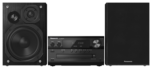 Музыкальный центр Panasonic SC-PMX70EE-K, черный