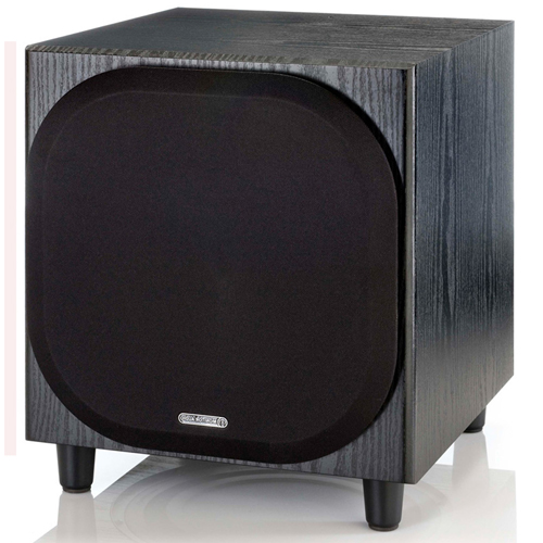 Акустическая система Monitor-Audio сабвуфер Bronze W10, чёрный дуб Bronze W10 Black Oak