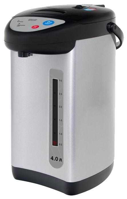 Термопот Mystery MTP-2452, черный/серебристый