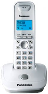 Радиотелефон Panasonic KX-TG2511, белый KX-TG2511RUW белый