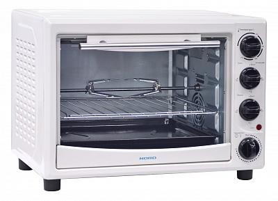 Мини-печь, ростер NORD EO 28 W TC, белая