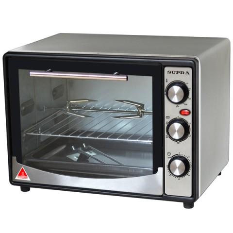 Мини-печь, ростер SUPRA MTS-200, серебристая