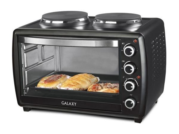 Мини-печь, ростер Galaxy GL 2617, черная