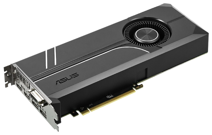 Видеокарта GeForce ASUS GeForce GTX 1060 1506Mhz PCI-E 3.0 6144Mb 8008Mhz 192 bit DVI 2xHDMI HDCP TURBO TURBO-GTX1060-6G