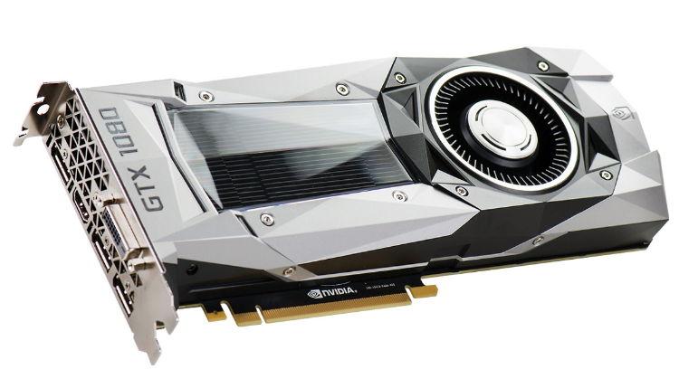 Видеокарта GeForce EVGA GeForce GTX 1080 1607Mhz PCI-E 3.0 8192Mb 10000Mhz 256 bit DVI HDMI HDCP, FOUNDERS EDITION 08G-P4-6180-KR