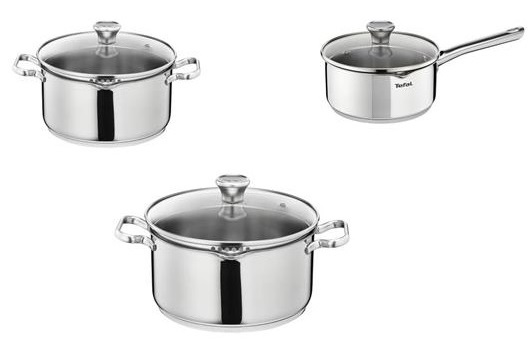 Набор посуды Tefal Duetto A705S374 нержавеющая сталь 2100084970