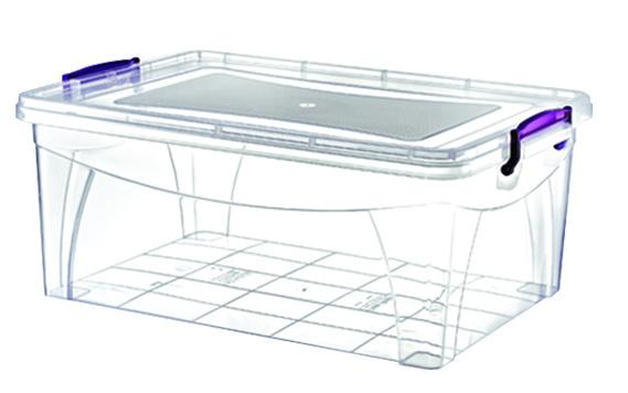 Контейнер для продуктов ROSSPLAST РП-112, прозрачный