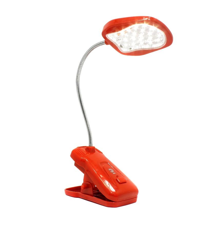 Светильник настольный ERA NLED-420-1.5W-R красный
