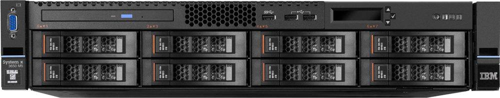 Сервер Lenovo TopSeller x3650 M5 Rack 2U,Xeon 8C E5-2620 v4(2.1GHz/20MB/85W),1x16GB/2Rx4/2400MHz/1.2V LP RD 8871EJG