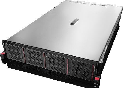 "Сервер Lenovo ThinkServer RD650 w/70D4/2U rack 6 x 2.5"" + 9 x 3.5"" Bays, 1 x Xeon E5-2609v3, 1 x 8Gb 70D40015EA"