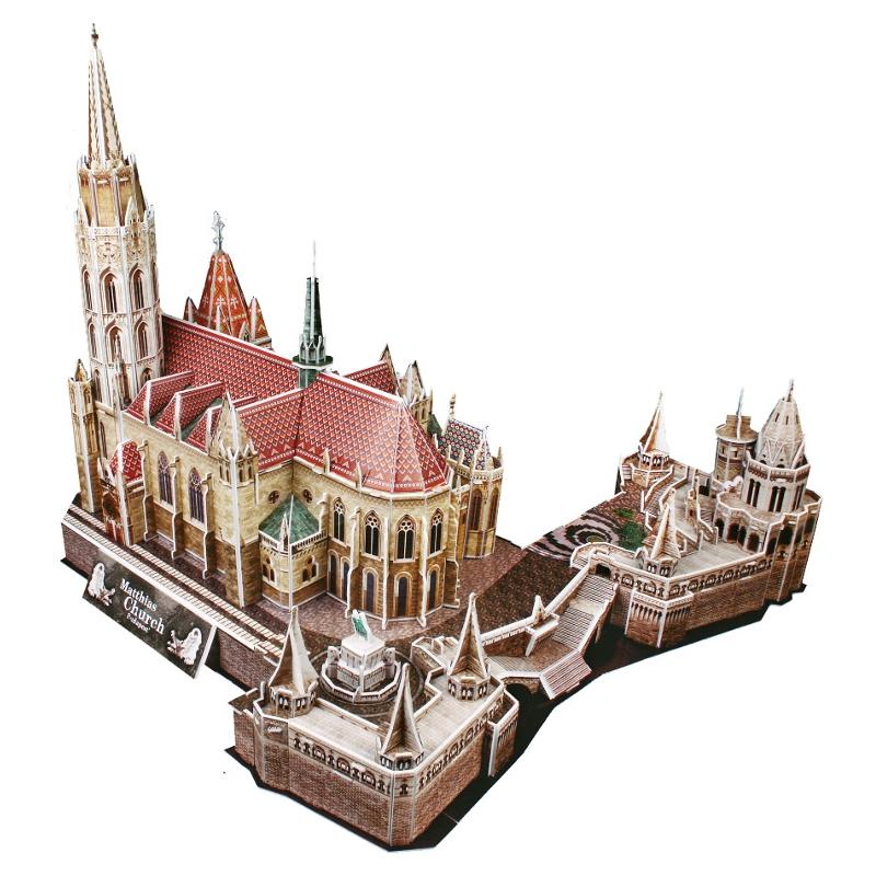 Набор игровой CubicFun (пазл) Церковь Святого Матьяша (Венгрия)