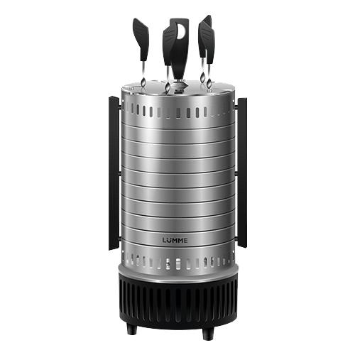 Электрогриль Шашлычница Lumme LU-1271 серый гранит