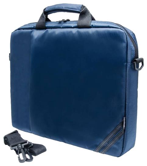 """Сумка для ноутбука PC-PET PC PET PCP-1004BL, 15.6"""", синяя, нейлон"""