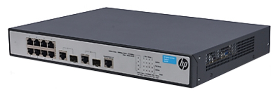 Коммутатор (switch) HP 1910-8 -PoE+ (управляемый) JG537A
