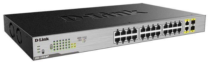 Коммутатор (switch) D-link DGS-1026MP/A1A