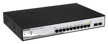 Коммутатор (switch) D-link DGS-1210-10P/C