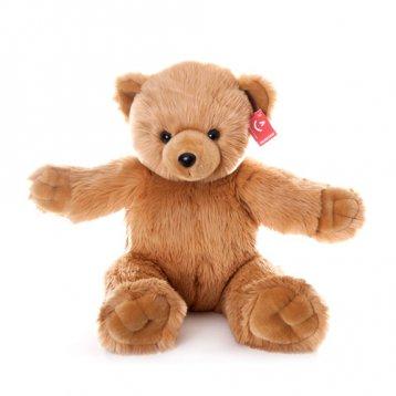 Игрушка мягкая Aurora Медведь Обними меня 72 см, коричневая
