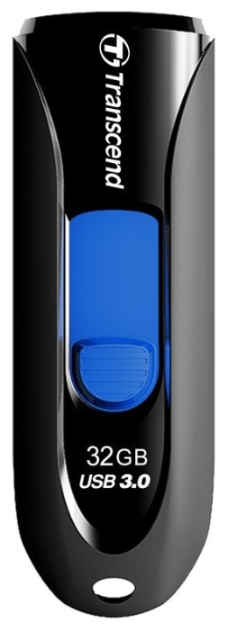 Usb-������ Flash Drive 32 Gb Transcend JetFlash 790 Black/Blue TS32GJF790K