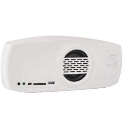 Портативная акустика Microlab MD310BT, белая (2.1ch, Bluetooth 2.1, вход, выход, микрофон, USB, SD, аккумулятор, часы) MD310 BT white