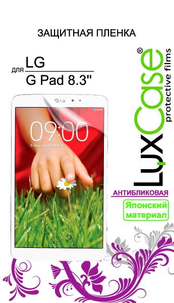 "Защитная пленка для планшета LuxCase для LG G Pad 8.3"" 80620"