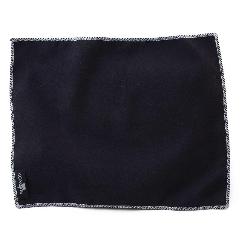 Чистящая принадлежность для ноутбука Konoos для планшетов, чёрная, лого KP-1-Вl