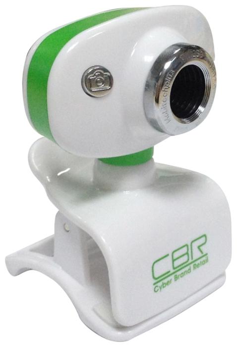 Web-камера CBR CW 833M, зелёная CW 833M Green