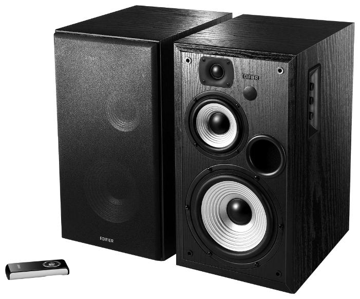 Компьютерная акустика Edifier R2700, 2.0, чёрные (MDF, 20-20000Гц, 2x64Вт, RCA, S/PDIF) R2700 Black