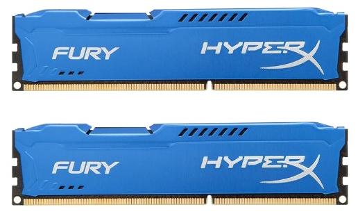 Модуль памяти Kingston HX313C9FK2/8, синий