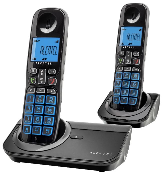 Радиотелефон Sigma 260 duo (монохромный дисплей) DECT ALCATEL SIGMA 260 DUO