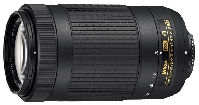 Объектив для фото Nikon 70-300mm, Черный JAA829DA