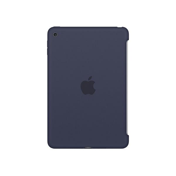 Чехол для планшета apple iPad mini 4 Silicone Case, полуночный синий MKLM2ZM/A