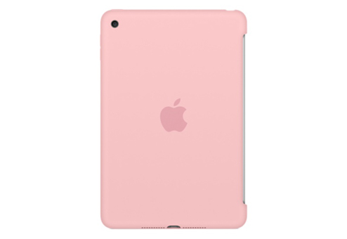 Чехол для планшета apple iPad mini 4 Silicone Case, розовый MLD52ZM/A