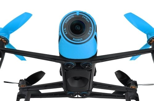 Квадрокоптер Parrot Bebop Drone + Skycontroller, синий PF725101