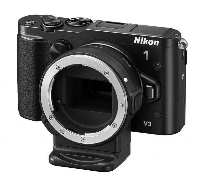 Цифровой фотоаппарат Nikon 1 V3 Body, черный VVA231AE