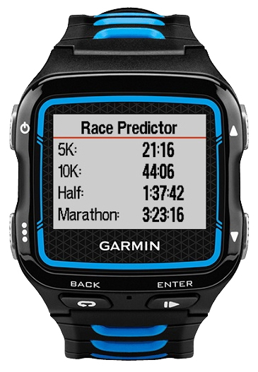 Умные часы Garmin Forerunner 920XT HRM, черно-синие 010-01174-30