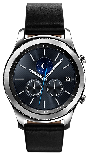 Умные часы Samsung Gear S3 Classic (SM-R770), хромированная сталь SM-R770NZSASER