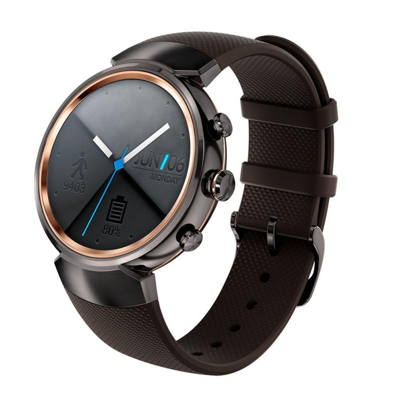 Умные часы ASUS ZenWatch 3 (WI503Q), Серо-коричневые WI503Q-1LDBR0008